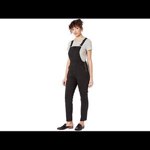 Madewell Skinny Overalls in Lunar Wash